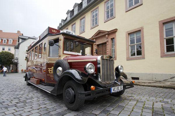 Stadtrundfahrt Weimar Im Historischen Bus Belvedere Express